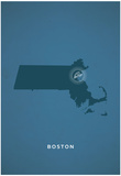 You Are Here Boston Posters