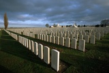 Tyne Cot British Military Cemetery Photographic Print by Michael St. Maur Sheil