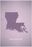 You Are Here New Orleans Poster