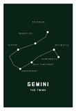 Astrology Chart Gemini Prints