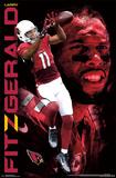 Arizona Cardinals - L Fitzgerald 14 Posters