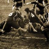 Rugby Game III Giclée-Druck von Pete Kelly