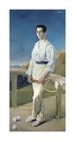 The Tennis Player Premium Giclee Print by Jose Villegas Y Cordero