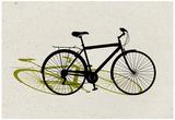 Beach Bike Pop Art Prints
