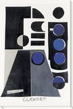 Klarinette Leinwand von  KOCO