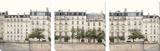 Apartments in Paris along the Seine Sztuka autor Irene Suchocki