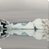 Iceberg I Stretched Canvas Print by Irene Suchocki