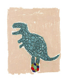 T Rex Balance Posters by Katrien Soeffers