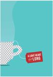 A Light Heart Lives Long Poster