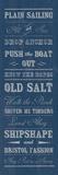 Plain Sailing Giclee Print