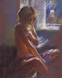 Private Moments IV Giclee Print by Hazel Soan