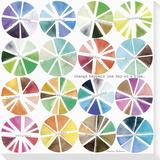 Color Wheels Reproduction transférée sur toile par Maria Carluccio