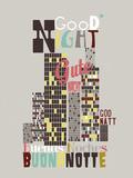 Times of Day II Giclee Print by Laure Girardin-Vissian