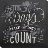 Don't Count the Days Reproduction transférée sur toile par Valerie McKeehan