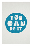 You Can Do It Affirmation Dot Prints