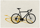 Road Bike Pop Art Prints