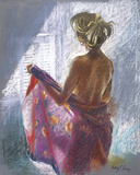 Private Moments I Giclee Print by Hazel Soan