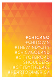 Hashtag City Chicago Prints