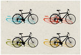 Beach Bike Pop Art Prints