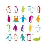 Penguin Fun Giclee Print by Clara Wells