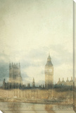 London I Stretched Canvas Print by Irene Suchocki