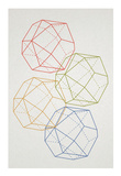 Geometric Pop Art Lámina