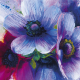 Floral Intensity IV Giclee Print by Nick Vivian
