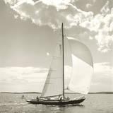 Sunlit Sails II Gicléetryck av Michael Kahn