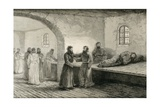 Prison in Yeniseisk Prints by Julius M. Price