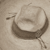 Cowboy Hat Photographic Print by Kathy Mahan