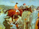 At the Races Prints by Jean Louis Forain