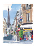 Paris Life Photographic Print by PM Shore