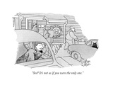 """See? It's not as if you were the only one."" - New Yorker Cartoon Premium Giclee Print by Rowland Wilson"