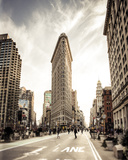 The Flatiron Giclee Print by Joseph Eta