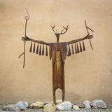 Garden Sculpture Photographic Print by Kathy Mahan