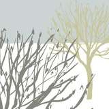 Snow Tree II Giclee Print by Sarah Cheyne
