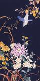 Oriental Flowers & Bird Giclee Print by Haruyo Morita