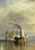The Fighting Temeraire Prints by J. M. W. Turner