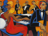 In the Groove, 1937 Giclee Print by Marsha Hammel