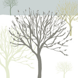 Snow Tree I Giclee Print by Sarah Cheyne