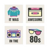 Awesome 80's Reproduction procédé giclée par Sasha Blake