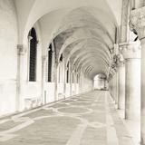 The Piazza II Giclée-tryk af Joseph Eta