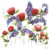 Floral Celebration I Giclee Print by Jean Picton