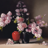 Japanese Blossom (detail) Giclee Print by Pippa Chapman