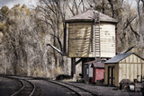 Vintage Train Yard I Photographic Print by Kathy Mahan