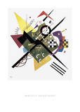 Study for On White II, 1922 Prints by Wassily Kandinsky