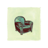 Frau Chair II Photographic Print by Debbie Nicholas