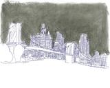 New York Giclee Print by Katrien Soeffers