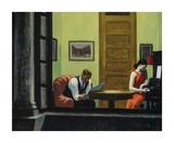 Room in New York Reproduction pour collectionneurs par Edward Hopper