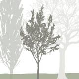 Treeline Trio Giclee Print by Sarah Cheyne